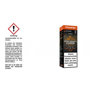Gentleman´s Cloud - E-Zigaretten Nikotinsalz Liquid 12mg/ml